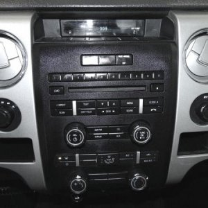 F150 dash before